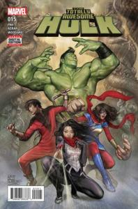 Totally Awesome Hulk #15, NM + (Stock photo)