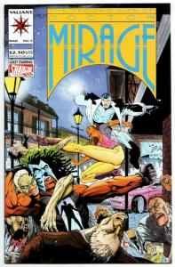 Second Life of Doctor Mirage #5 (Valiant, 1994) NM