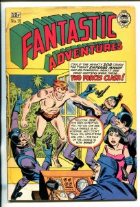 FANTASTIC ADVENTURES #12-1963-JUNGLE SFI-FI COMBO STORY-good
