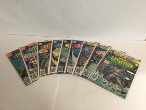 Detective Comics 461-468 470 Lot Set Run Fn-Vf Fine-Very Fine 6.0-8.0