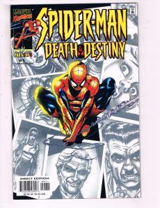 Spider-Man The Death Of Destiny #1 Of 3 VF Marvel Comics Comic Book DE14