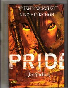 Pride Of Baghdad DC Vertigo Comics HARDCOVER Graphic Novel Comic Book MF19