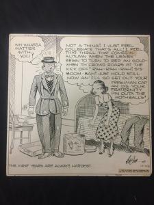 Ed Dodd Back Home Again Original Newspaper Comic Art 10/6/36
