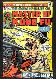 Master of Kung Fu #31 (1975)