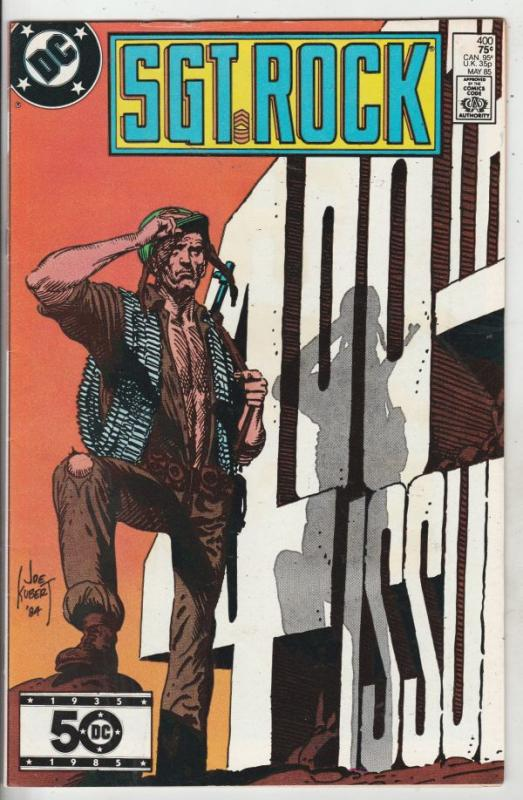 Sgt. Rock #400 (May-85) VF/NM High-Grade Sgt. Rock