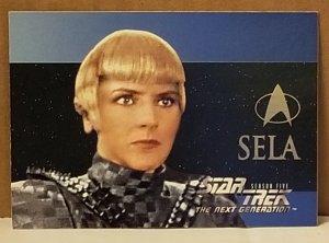 1994 Star Trek The Next Generation #S30 Sela