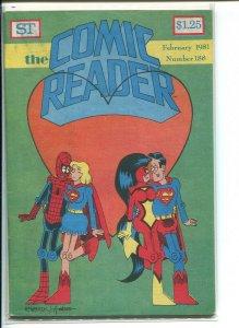COMIC READER (1961 STREET) FANZINE #188 VG/F A12006