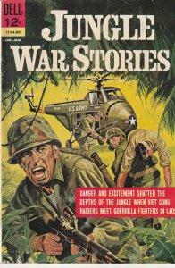 Jungle War Stories(Dell) # 2    Vietnam War Action !