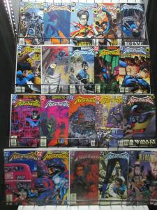 Nightwing (DC 1998-03) Lot of 44Diff Mini-Library Dick Grayson's Butt(kicking)