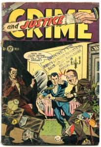 Crime and Justice #14 1953- Parade of Pleasure- Golden Age G