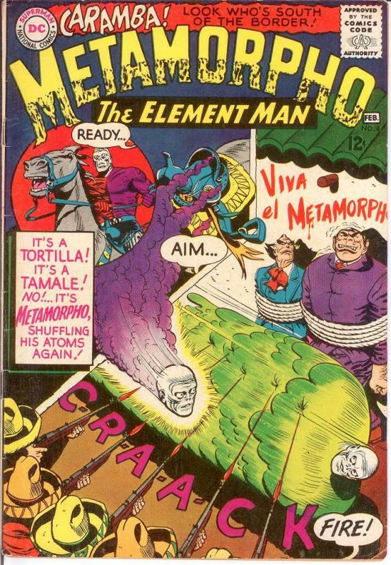 METAMORPHO 4 VG-F Feb. 1966 COMICS BOOK