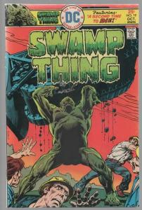 SWAMP THING 19 VG-F Oct. 1975