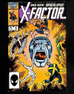 X-Factor (1986) #6 1st Apocalypse!