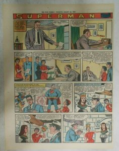 bvSuperman Sunday Page #1034 by Wayne Boring from 8/23/1959 Tabloid Page Size