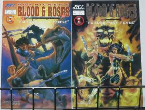 BLOOD & ROSES Future Past Tense (Sky Comics,1993) #1-2 COMPLETE! Bob Hickey
