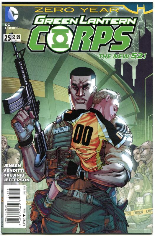 GREEN LANTERN CORPS #25, NM, 52, 2014, Zero Year, more GL in store