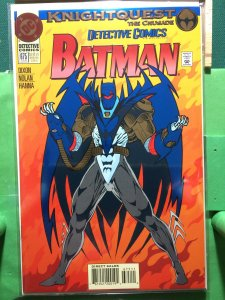 Detective Comics #675 Knightquest The Crusade