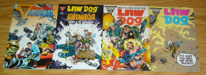 Lawdog #1-10 VF/NM complete series + grimrod one-shot + annual - chuck dixon