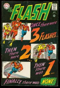 THE FLASH #173 1967-DC COMICS-INFANTINO-ANDERSON-BLACK FN-