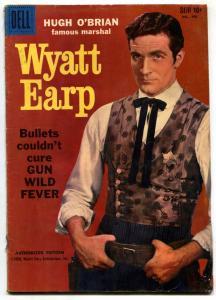 Wyatt Earp #5 1959- Hugh O'Brian Dell Western VG-