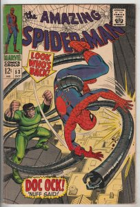 Amazing Spider-Man #53 (Oct-67) FN+ Mid-High-Grade Spider-Man