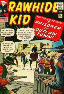 Rawhide Kid (1955 series) #36, Good- (Stock photo)
