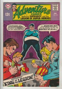 Adventure Comics #375 (Dec-68) VF/NM High-Grade Legion of Super-Heroes, Superboy