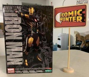 Avengers Marvel Now! ARTFX+ Statue Iron Man Black & Gold Kotobukiya