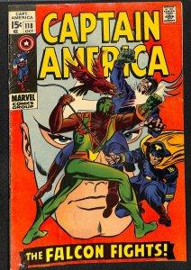 Captain America #118 VG/FN 5.0 2nd Falcon!