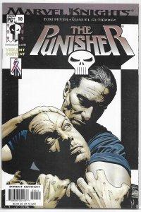 Punisher (vol. 6, 2001) #10 VF Peyer/Gutierrez, Bradstreet cover