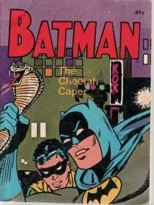 BATMAN-CHEETAH CAPER-SNAKE COVER-BLB # 5771-WHITMAN FN