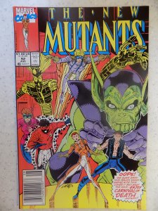 NEW MUTANTS # 92 LIEFELD HOT MOVIE