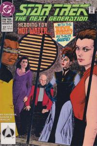 Star Trek: The Next Generation (1989 series) #37, VF+ (Stock photo)
