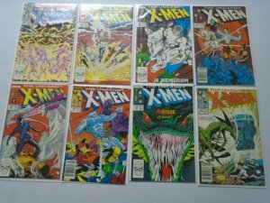 Uncanny X-Men Comic Lot From: #226-278 38 Diff Books Average 6.0 FN (1988-1991)
