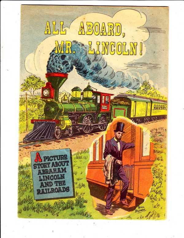All Aboard, Mr.Lincoln #1 (Jan-59) FN Mid-Grade Abraham Lincoln
