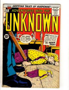 Adventures Into The Unknown # 94 FN ACG Silver Age Comic Book Ogden Whitney JL11