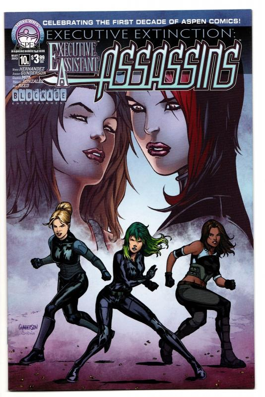 Executive Assistant Assassins #10 Cvr A (Aspen, 2013) NM-