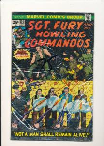 MARVEL #130 Sgt. Fury and His Howling Commandos FINE (SIC005)