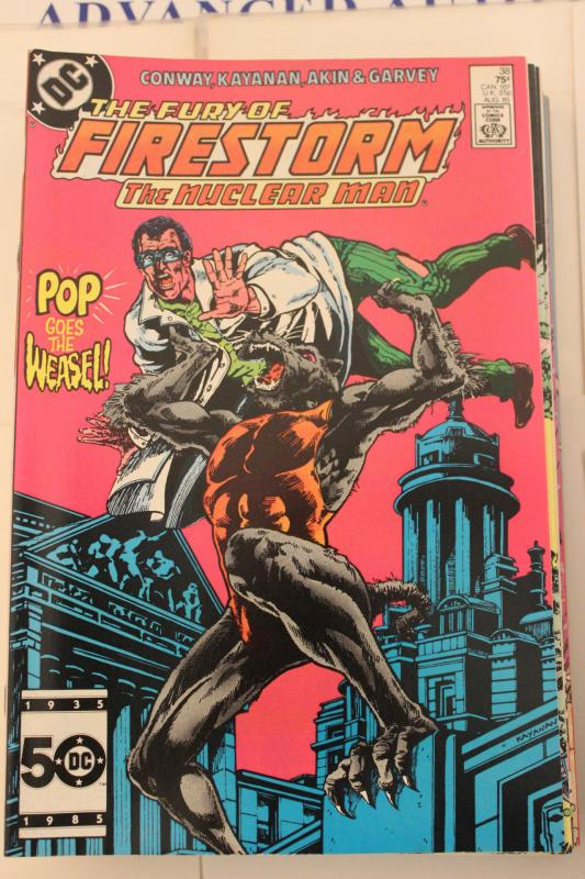 The Fury of Firestorm  #38 9-0-vf-nm