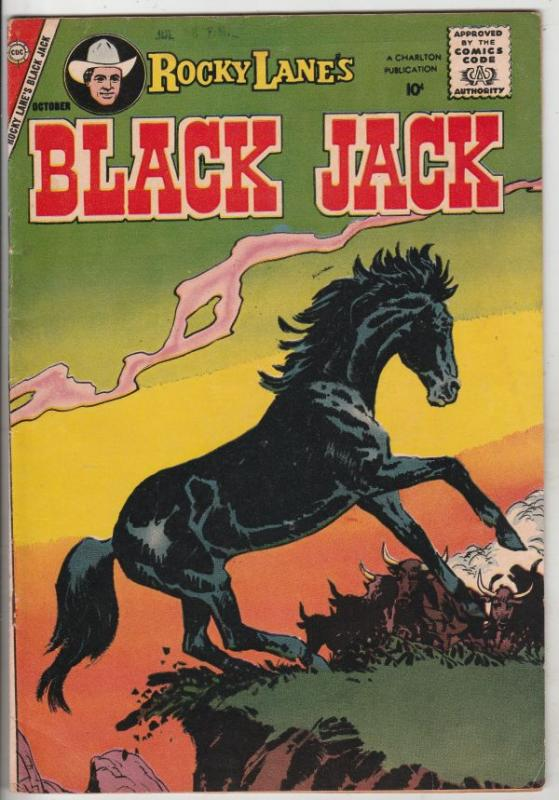 Black Jack #24 (Oct-58) VF+ High-Grade Black Jack, Rocky Lane
