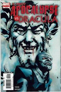 X-Men: Apocalypse/Dracula #2 Frank Tieri Jae Lee Cover NM