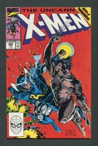 Uncanny X-Men #258 (1st Series 1963) / 9.4 NM   February 1990