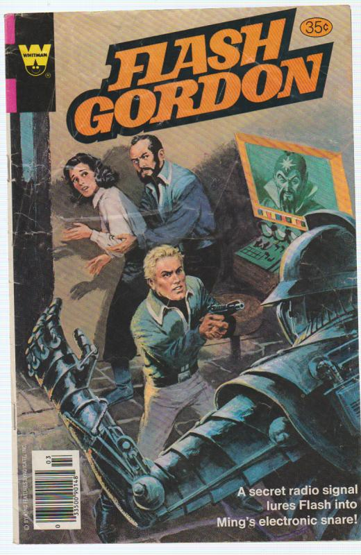 FLASH GORDON #22 1979 WESTERN PUBLISHING COMPANY (WHITMAN) PRINCE & THE TRAITOR