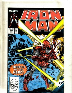 12 Iron Man Comics #230 231 232 233 234 235 236 237 238 239 241 Annual #9 GB2