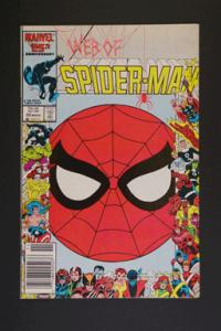 Web of Spider-Man #20 November 1986