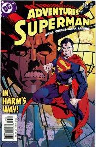 Adventures of Superman #637 NM+