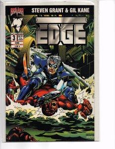 Malibu Comics Edge #3 (Last Issue) Gil Kane Steven Grant