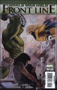 Marvel WORLD WAR HULK: FRONT LINE #5 VF/NM