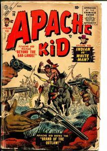 Apache Kid #16 1955-Atlas-Joe Maneely Indian cover-good stories-FR