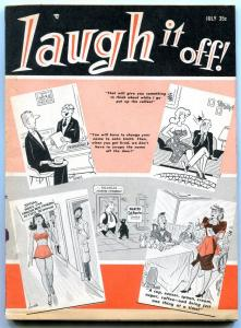 Laugh It Off Magazine July 1961-Humorama-Bill Ward- Wenzel